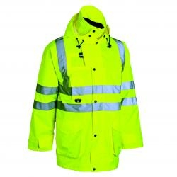 High Visibility Waterproof Safety Jacket