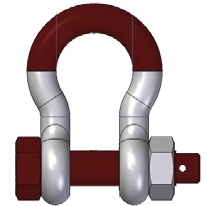 Gunnebo™ Anja Lifting Super Shackle (Bow Shackle with Safety Bolt)