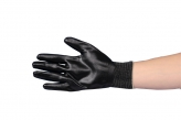 Black Foam Nitrile Glove
