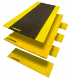 Hi-Traction Walkway Landing Platform Ramp Covers