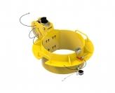 IN-2497 508-559mm manhole collar 0-30 degree