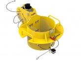 IN-2486 406-457mm manhole collar 0-30 degree