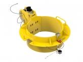 IN-2475 610-660mm manhole collar 0-45 degree