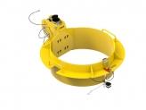 762-813mm manhole collar 0-30 degree