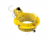 IN-2498 610-660mm manhole collar 0-30 degree