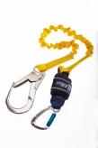 1245537 1.25m Single Leg Shock Absorbing Lanyard � Expander with Scaffold Hook