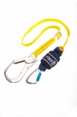 1245543 2m Shock Absorbing Lanyard Single Leg Scaffold Hook
