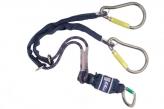 1224569 Twin Leg Shock Absorbing Lanyards - EZ-Stop� Tie-Back (Pear Hook - Twin Leg 1.65m)