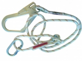 AL422/3 Work Positioning Lanyard (10.5mm - 2m with AJ50)