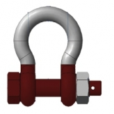 Gunnebo� Anja Lifting Arctic Shackle (Bow Shackles with Safety Bolt)