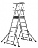 Youngman Teleguard Telescopic Platform Ladder