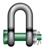 Green Pin® G-4153 - Dee Bow Safety Pin Shackles