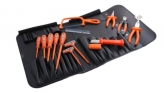 1000V3 14 Piece Tool Kit - Insulated Tools For Live Line Working & Electrical Safety