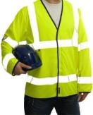 Hi-Viz Flame Retardant Long Sleeve Vest