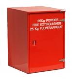 Firebird Wheeled Fire Extinguisher Unit Cabinet