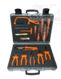 1000V5 17 Piece Tool Kit - Insulated Tools For Live Line Working & Electrical Safety