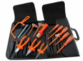 1000V2 14 Piece Tool Kit - Insulated Tools For Live Line Working & Electrical Safety