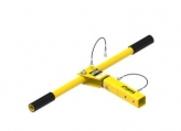 IN-2274 - Short Adjustable T-Bar Leg
