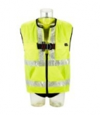 1161606, 1161607, 1161608 Protecta Standard Vest Style Fall Arrest Harness with High-Viz Vest