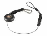 Squids® 3001 Retractable Single Carabiner w/loop end