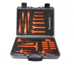 """1000V6 25 Piece Tool Kit - 1/2"""" Drive - Insulated Tools For Live Line Working & Electrical Safety"""