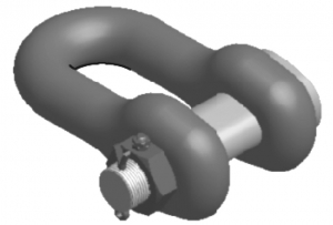 Feuerstein D-Type Joining Shackle