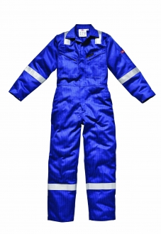 Flame Retardant Coverall with Hi-Vis Stripes
