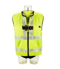 1161606, 1161607, 1161608 Protecta Standard Vest Style Fall Arrest Harness with High-Viz Vest