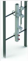 6100090  Ladder Safety Systems Bottom Bracket Galvanised